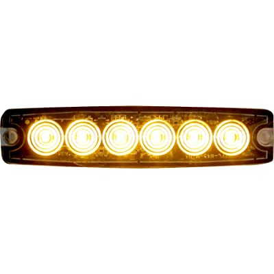 Buyers Products 8892200 Amber 6 LED Strobe Light (5-1/8in): Automotive