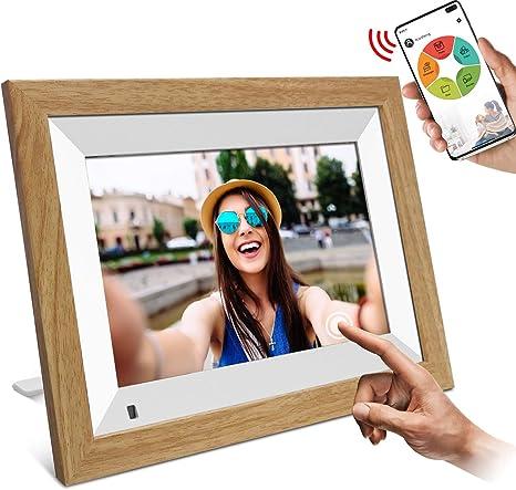 Wifi Digitaler Bilderrahmen Yenock 10 1 Touchscreen Kamera