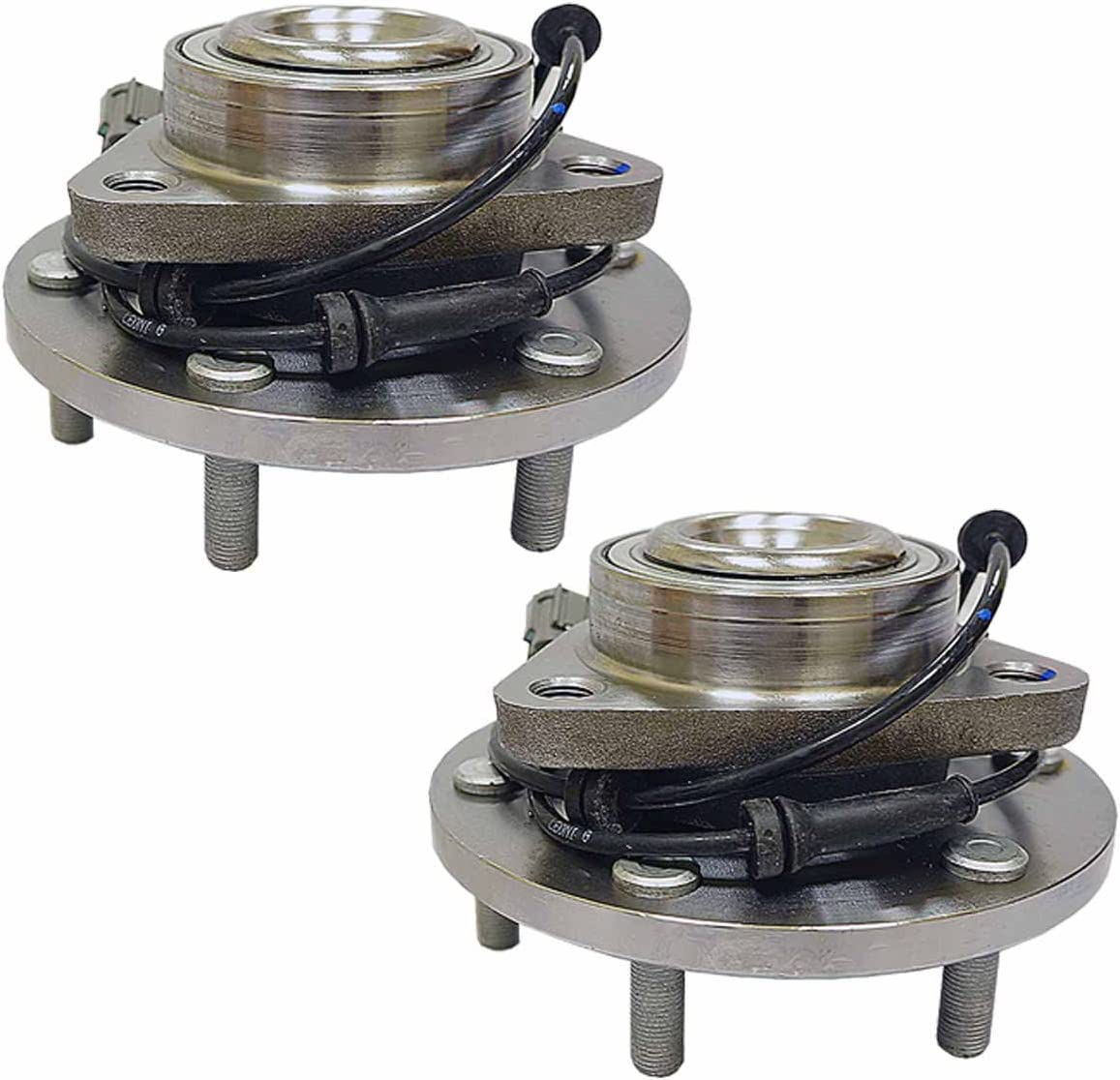 HU515066 x2 New Front Set Wheel Bearing Hub Assembly