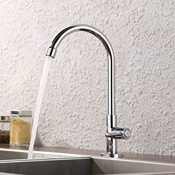 KES K8001A1LF Lead-Free Cold Water Faucet for Kitchen Sink ...