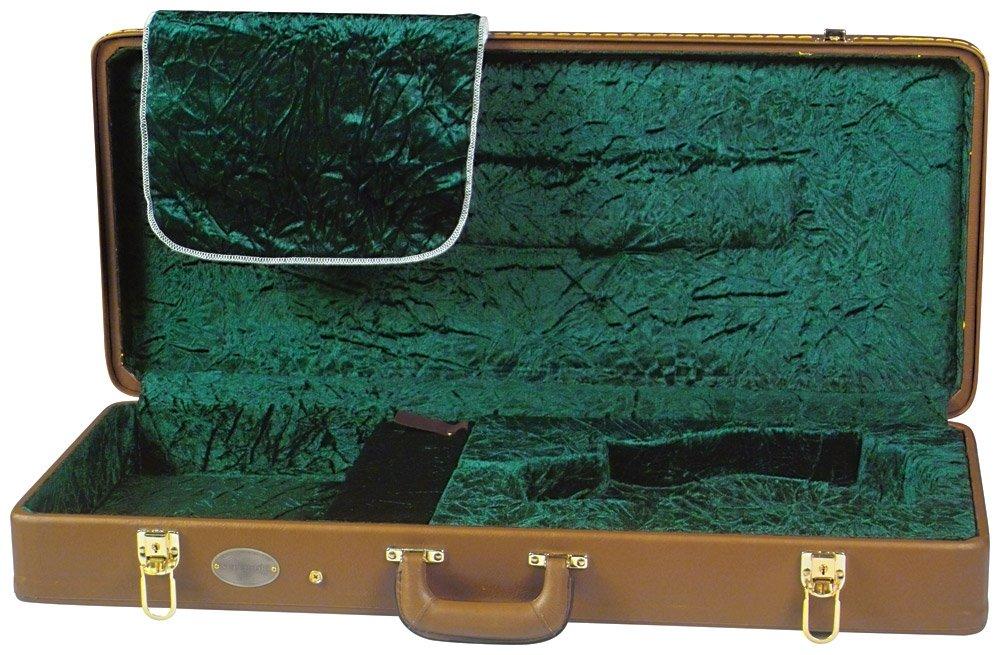 Superior CD-2522 Deluxe Hardshell Oblong F Model Mandolin Case