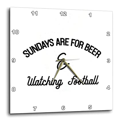 Sundays are for Beer and Watching Football 3dRose Tory Anne Collections Quotes T-Shirts