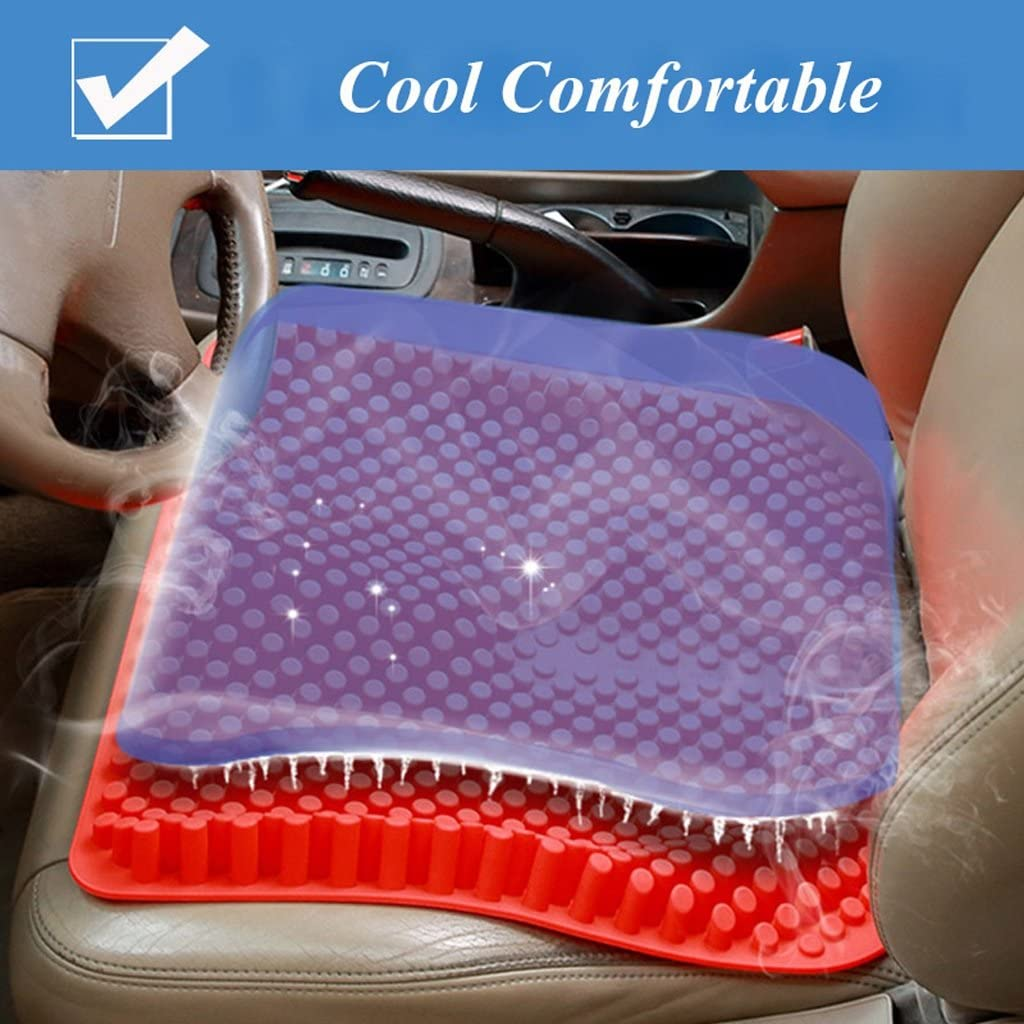 Amazon.com: QIHANGCHEPIN - Asiento de coche de silicona 3D ...