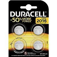 Duracell Batterie al Litio Specialistiche a Bottone, Stilo 2016, Confezione da 4