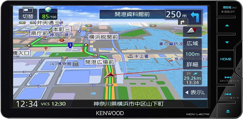 ケンウッド カーナビ 彩速ナビ 7型ワイド MDV-L407W