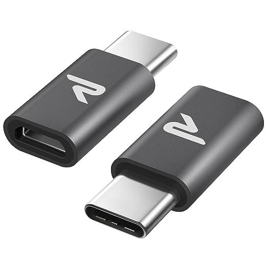 135 opinioni per Rampow® Adattatore USB C a Micro USB in Alluminio [ 2 Prezzi ] USB C a Micro USB