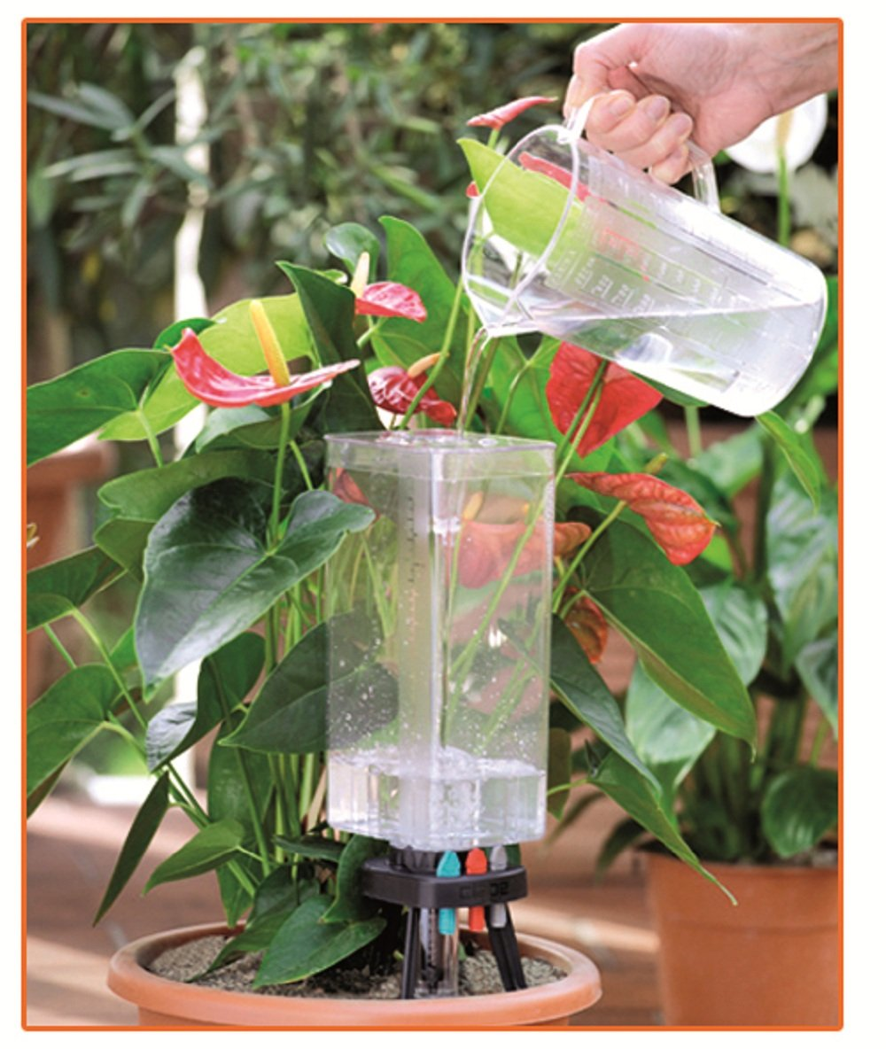 Automatic watering system for potted plants - Amazon com claber 8057 idris potted plants watering system kit watering timers garden outdoor