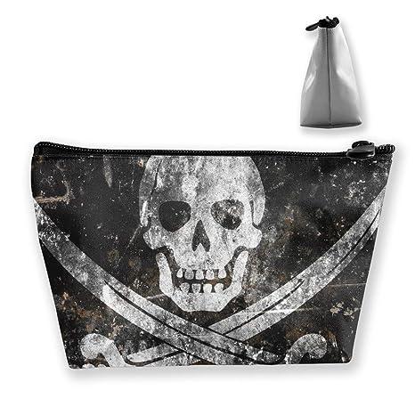 Bandera de Calavera Pirata Mujeres Cosmético Maquillaje ...