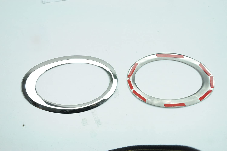 Minivan Vorne Nebelscheinwerfer Rahmen Ringe Rahmen Edelstahl OMAC Ford Connect 2014