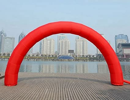 Amazon.com: welljoin 20 ft10ft D=6 M/20FT inflable rojo ...