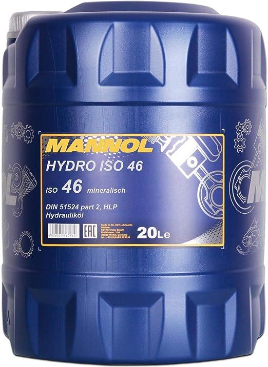 1 X 20l Mannol Hydro Iso 46 Hydrauliköl Hlp Auto