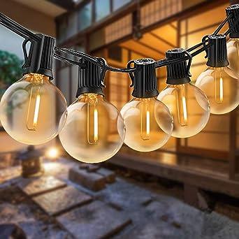 Lichterkette Garten Außen Outdoor Beleuchtung Kugel Lampe PartyLicht Glühbirnen