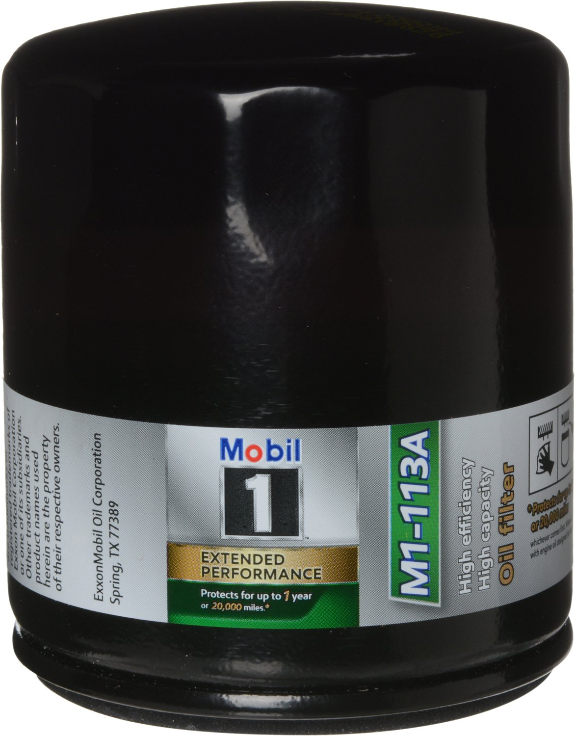 Mobil 1 M1-113A Extended Performance Oil Filter, 2 Pack, by Mobil 1