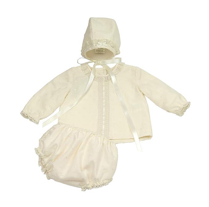 f2c5d4910 Conjunto Azalea Camisa Cubre-Pañal y Capota (Solo 6 Meses) - Hecho a Mano -  Excelente  Amazon.es  Ropa y accesorios