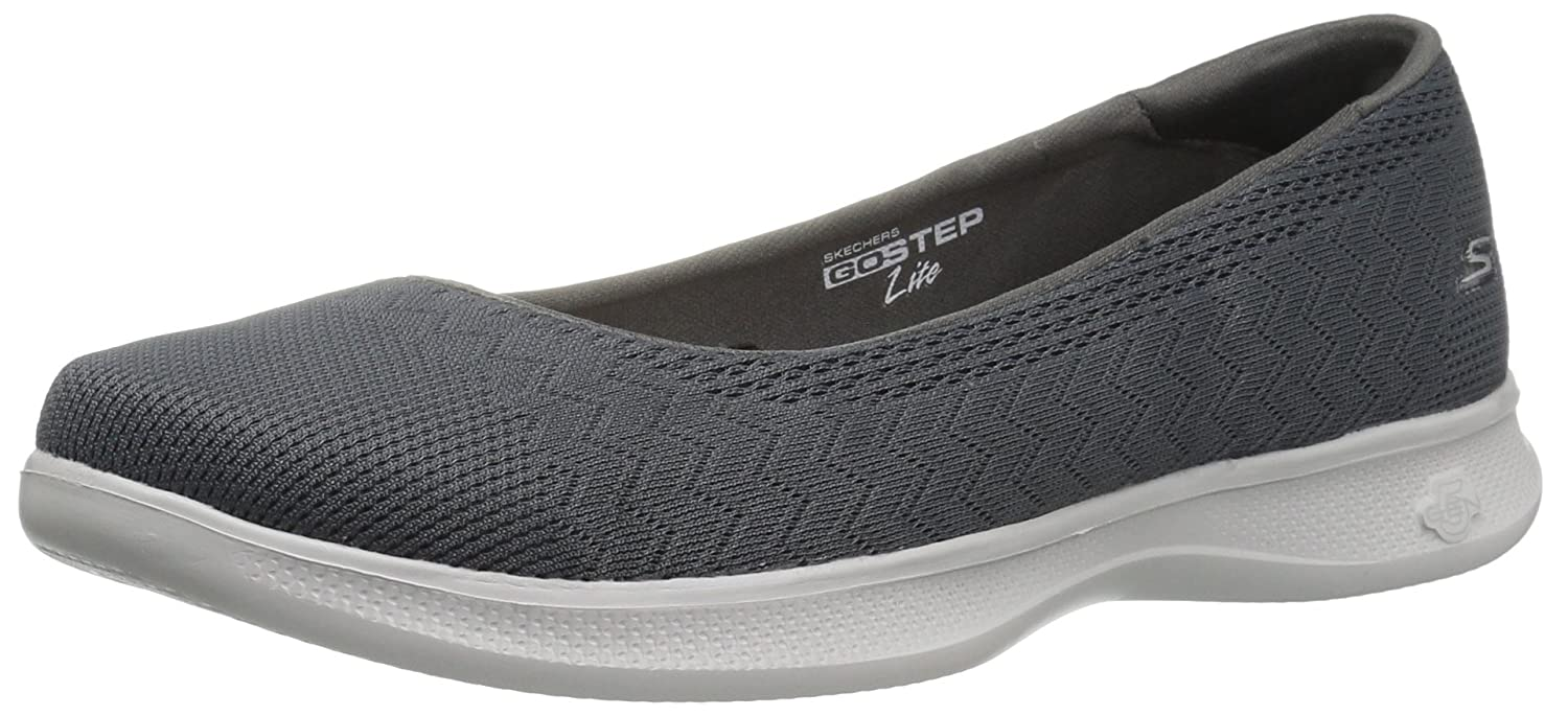 Skechers Performance Women's Go Step Lite-Solace Walking Shoe B01IIBVF1U 6 B(M) US|Charcoal