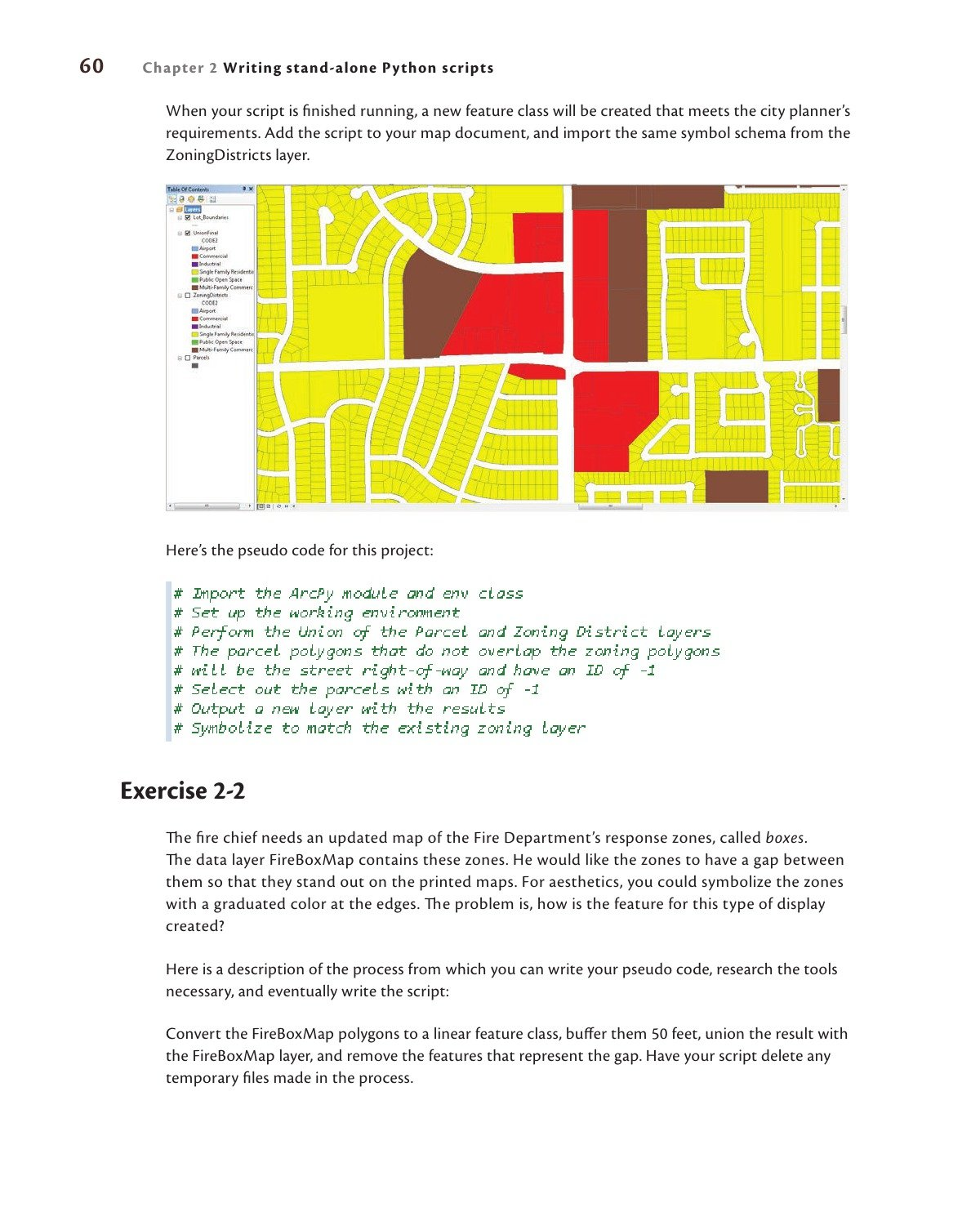 GIS Tutotorial for Python Scripting: Amazon in: David W