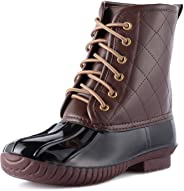 WFL Snow Boots for Women Ankle Duck Shoes Waterproof Women Rain Boots