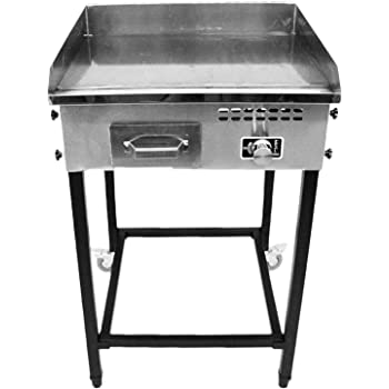 Amazon Com Bioexcel Taco Cart With 21 Quot X 16 Quot Stainless
