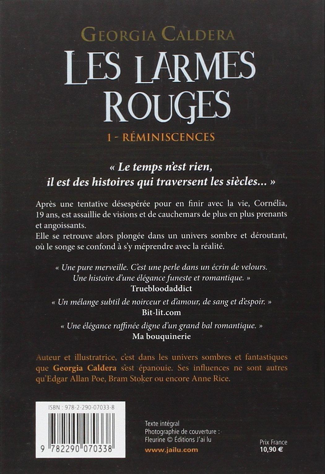 Les Larmes rouges (Tome 1) - Réminiscences (French Edition)