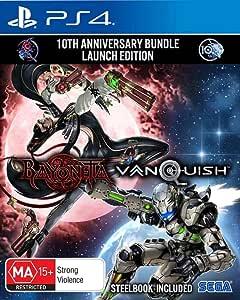 Bayonetta and Vanquish 10th Anniversary Edition - PlayStation 4