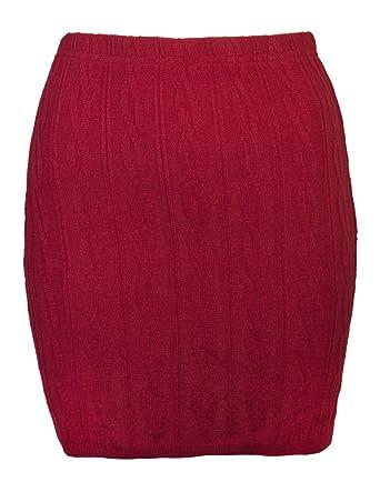 Love Lola - Falda - para Mujer Rojo Rosso S/M: Amazon.es: Ropa y ...