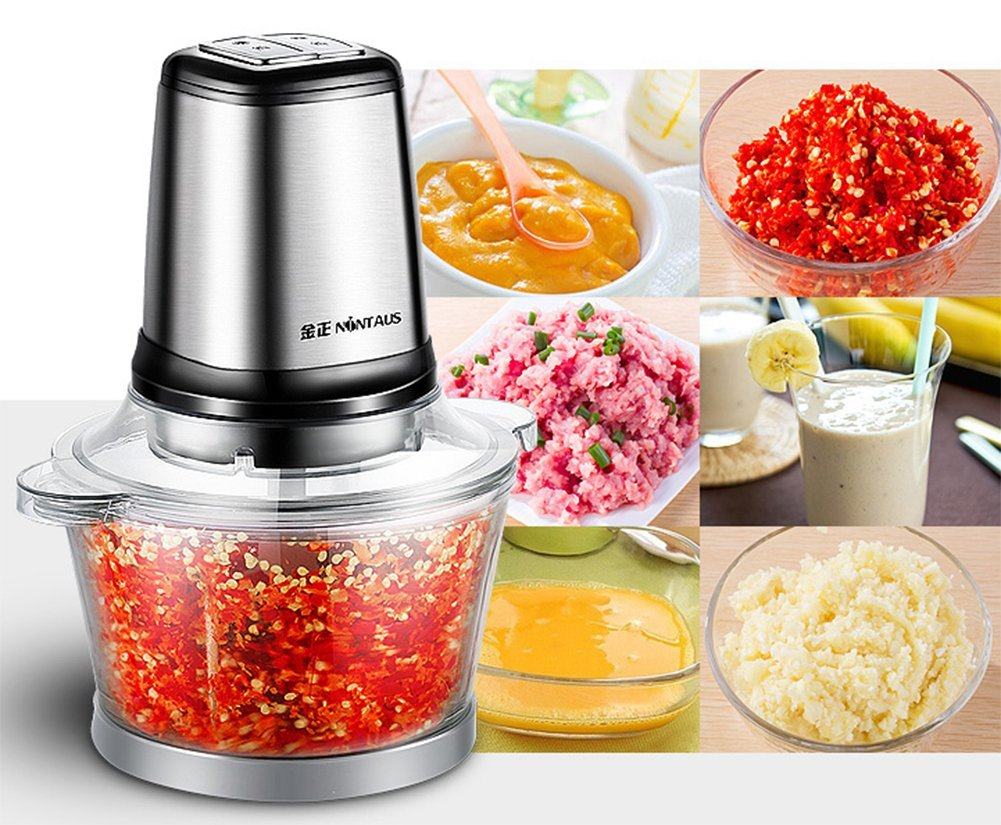 220V Stainless Steel Small Household electric Sausage Meat grinder Mincer maker
