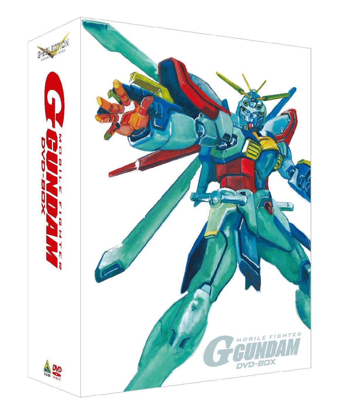 G-SELECTION 機動武闘伝Gガンダム DVD-BOX 【初回限定生産商品】 B003NVDMZI