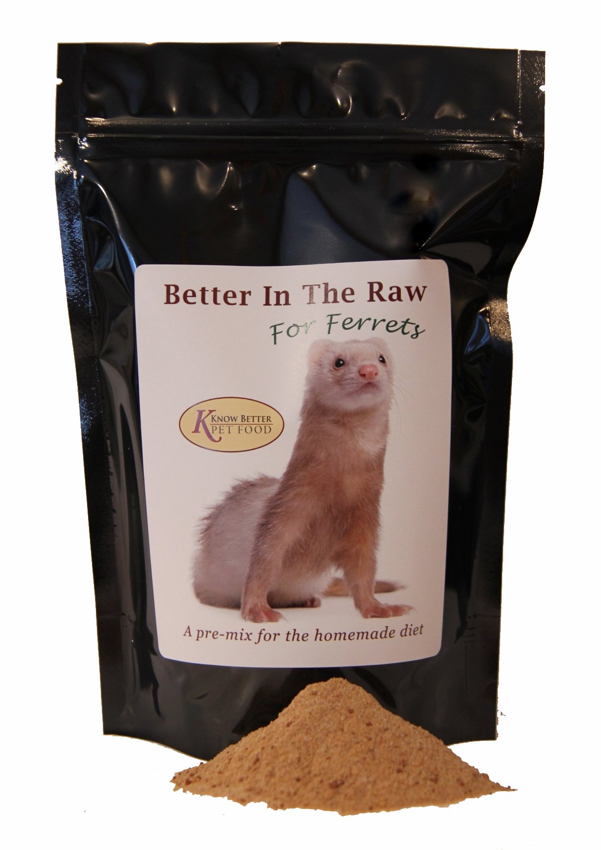 Better in the Raw for Ferrets - Make your own homemade RAW ferret food! (2lb)