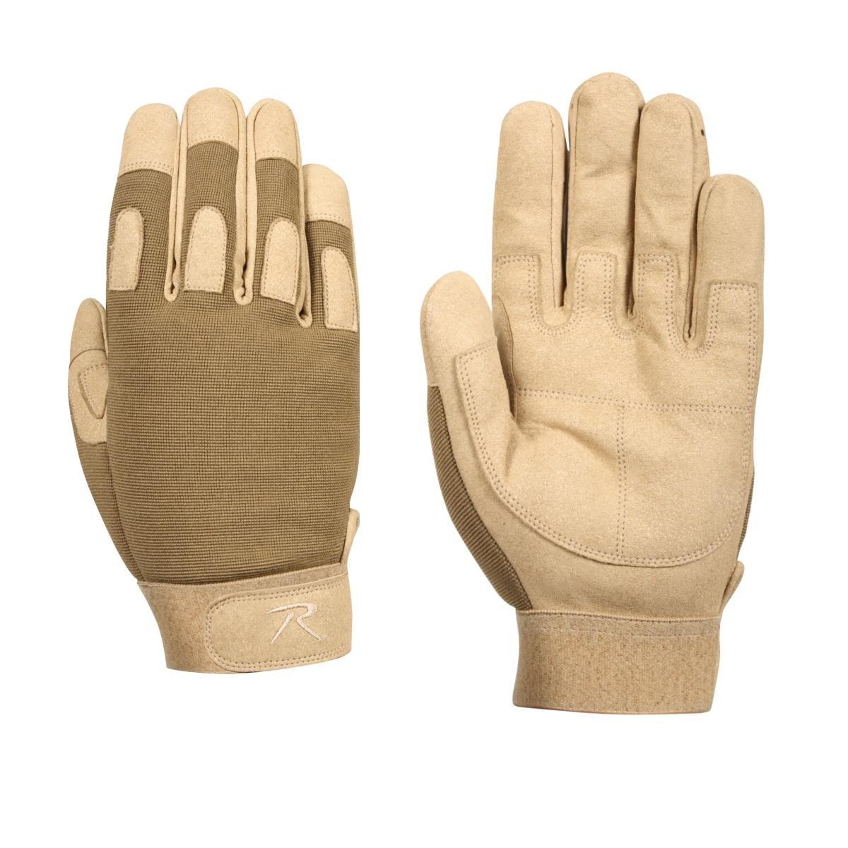 Rothco L/W All Purpose Duty Gloves, Coyote, Medium