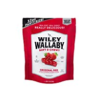 Wiley Wallaby Australian Style Gourmet Licorice, 32 oz. Resealable Bag, 1 Count...