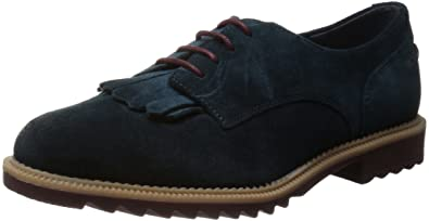 e7a2bd1107e Clarks Womens Casual Clarks Griffin Mabel Suede Shoes In Midnight Standard  Fit Size 6
