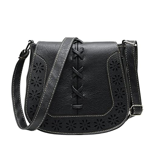 9d02a65b06 Image Unavailable. Image not available for. Color  Simple Stylish Shoulder  Bag Elegant Women s Handbags Fashion All-match Soft Leather Messenger Bag