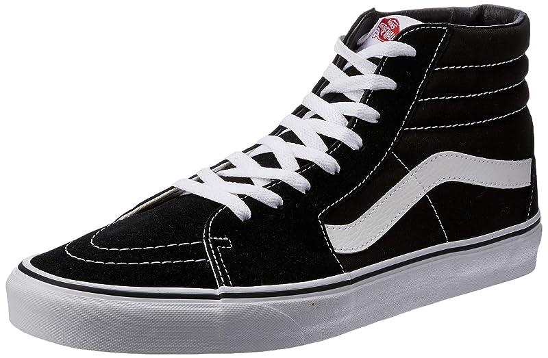 Vans Sk8-Hi  Sneaker Damen Herren Kinder Unisex Schwarz