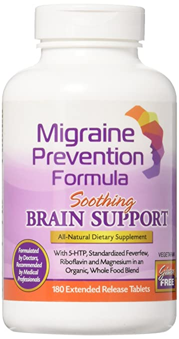 Dr  Knowles - Migraine Prevention Formula - 180 Caplets - 3 Month Supply -  Headache Treatment and Relief - Prevent Migraines While You Treat
