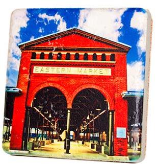 Eastern Market Shed Coaster