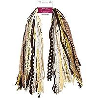 Ribbons for Crafts Wrapping Ribbon Fabric Ribbon Hair Ribbons for Girls Craft Ribbon Decorative Ribbon Fabric Trim Bow…