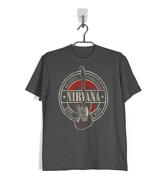 Ropa4 Camiseta Nirvana Seattle FF1BKVR