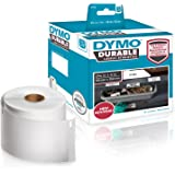 DYMO Label Writer Durable Polypropylene Label, 59 mm x 102 mm, White, 50 Count