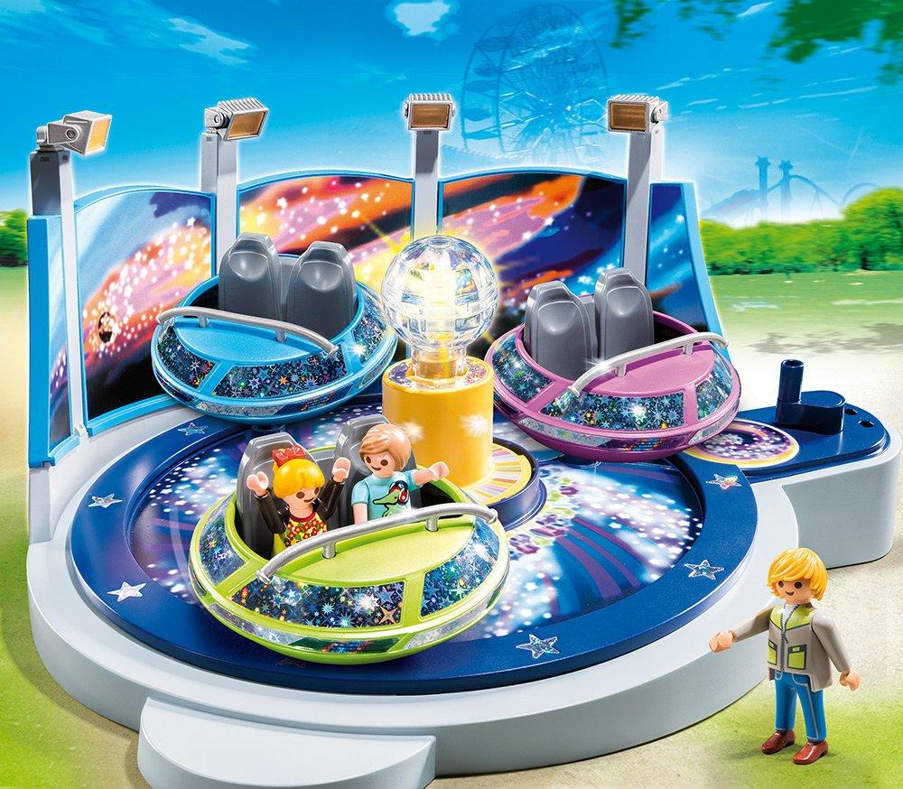 Playmobil PLAYMOBIL 5552 Riesenrad mit bunter Beleuchtung Summer FUN Kirmes Freizeitpark