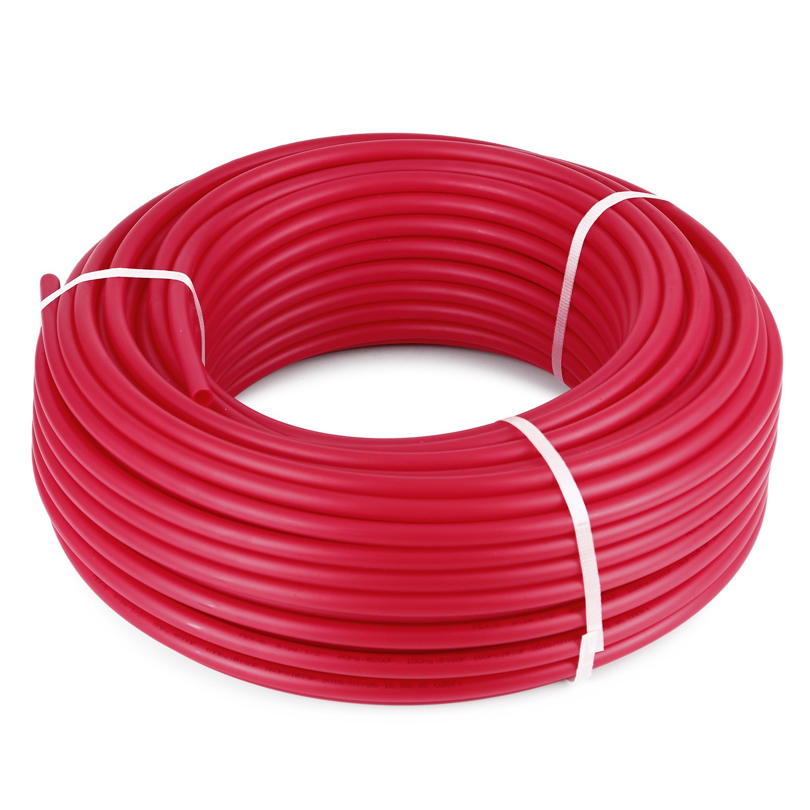 OrangeA PEX Tubing 1/2 Inch Potable Water Pipe 2 Rolls X 300Ft Tube Coil PEX-B Non Oxygen Barrier Piping for Hot Cold Plumbing and Radiant Floor Heating Applications by OrangeA (Image #4)