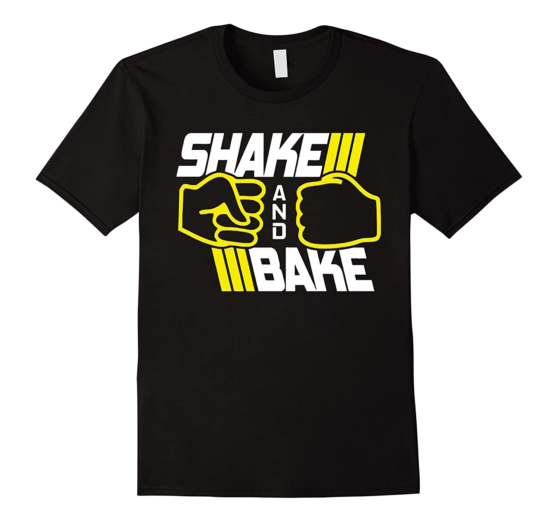 Shake and Bake Ricky Bobby Funny Racing T-shirt-TD