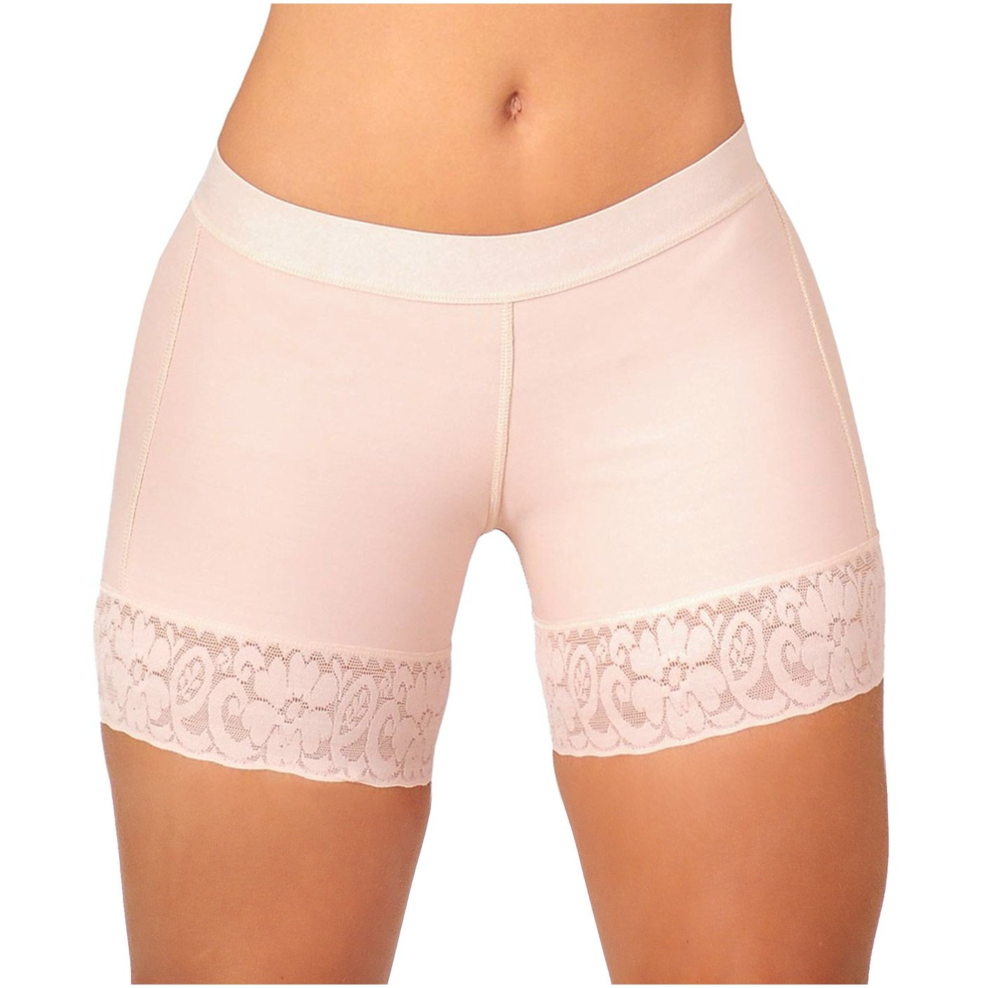 Fajas Salome 0321 Thigh Slim Enhancer Shapewear Butt Lift Shorts Levanta Cola