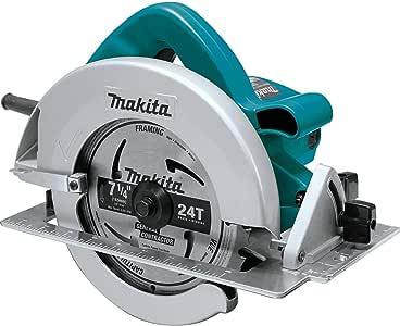 Makita, 5007FA, Circular Saw, 7-1/4 In. Blade, 5800 rpm, Teal