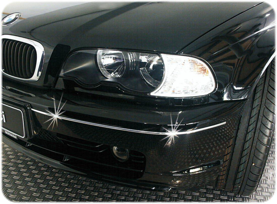 Auto Chrome-Zierleiste Profilst/ärke 7 x 3 mm ~~~~~ schneller Versand innerhalb 24 Stunden ~~~~~