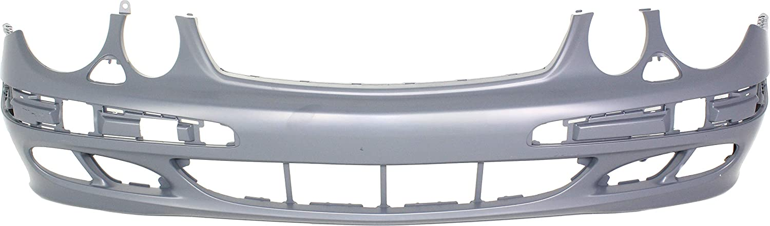Front Bumper Cover For 2003-2006 Mercedes Benz E320 211 Chassis Primed Plastic
