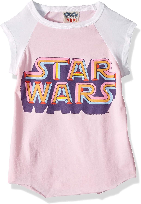 Junk Food Girls' Star Wars Technicolor-XXS
