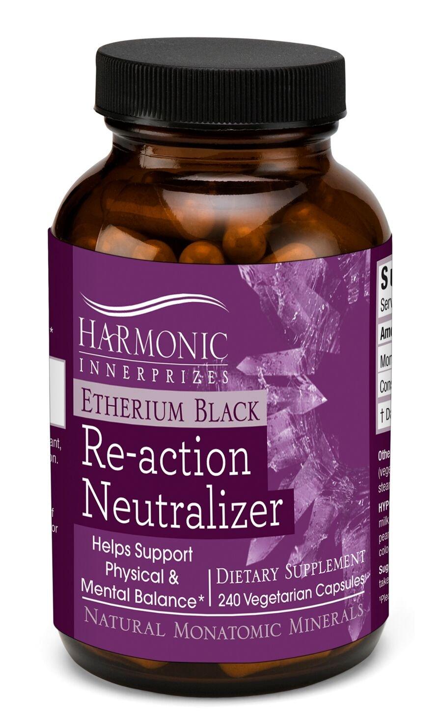 Harmonic Innerprizes Etherium Black 240 Caps