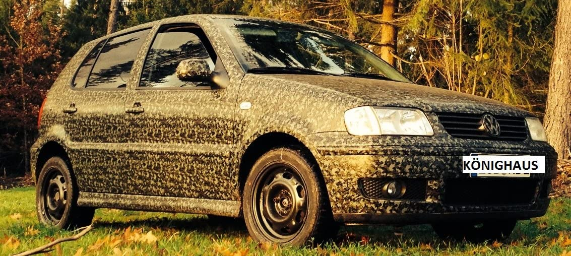 con istruzioni K/önighaus/ /Pellicola Woodland Digital Camo 300/x 152/cm Camouflage applicazione senza bollicine