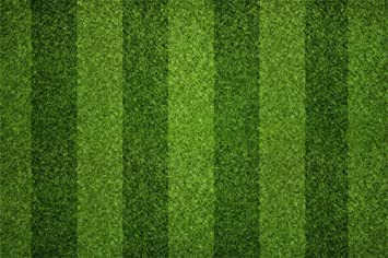 9X6FT Football Field Backdrop National Flag on Green Grass Lawn Backdrops for Photography Stadium Sports Theme Vinyl Photo Background Boys Kids Studio Props