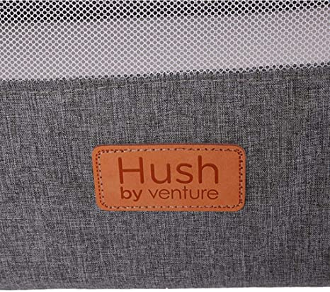 Gris Antracita Cuna para Dormir Venture Hush Side